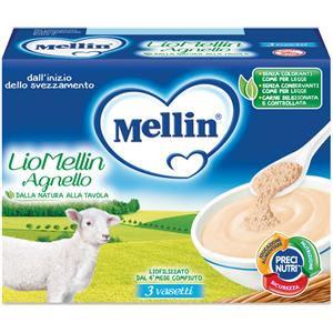 Mellin Liofilizzato agnello 3x10g