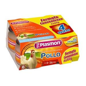 Plasmon Omogenizzato pollo 4x80g