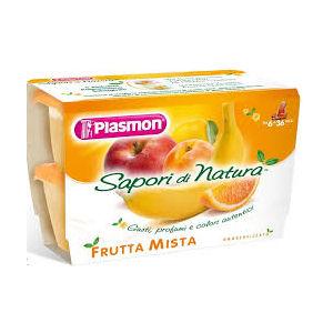 Plasmon Sapori di natura frutta mista 4x100g