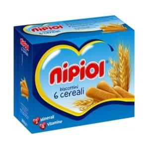 Nipiol Biscottini 6 cereali 800g