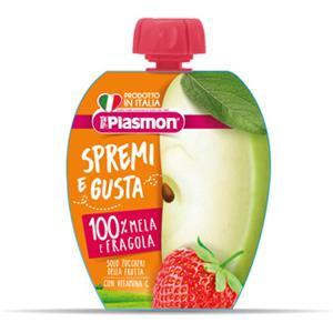 Plasmon Spremi e gusta mela e fragola 100ml