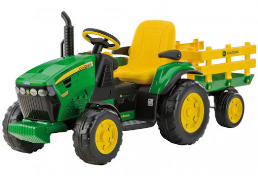 Peg Perego Trattore Elettrico John Deere Ground Force