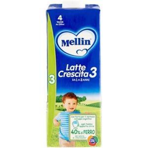 Mellin 3 latte liquido 1000ml
