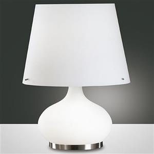 Fabas Ade 2533-35-102 lampada da tavolo bianco