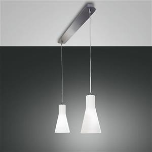 Fabas Diana 2753-46-138 lampada a sospensione 2 luci