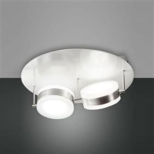 Fabas Mabel 3296-65-212 plafoniera LED 2 luci