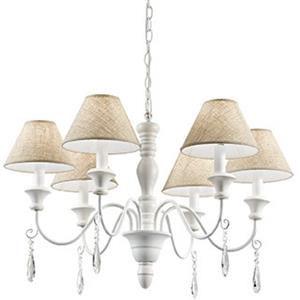 Ideal Lux Provence SP6 003399 lampada a sospensione 6 bracci bianco