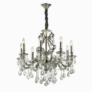 Ideal Lux Gioconda SP8 lampadario 8 bracci argento