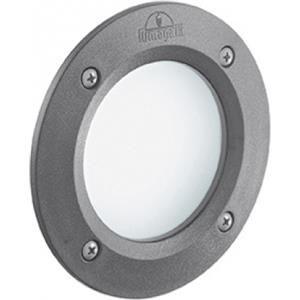 Ideal Lux Lampada da incasso 3w led gx53 grigio 1 leti round fi
