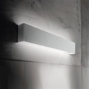 Ideal Lux Bright AP132 131962 applique LED alluminio bianco