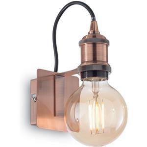 Ideal Lux Frida ap1 e27 lampada parete antico rame metallo x