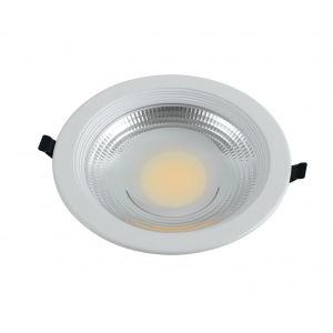 Fan Europe Lyra-20F faretto LED da incasso rotondo bianco