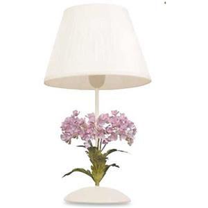 Fan Europe Ortensia lampada da tavolo bianco