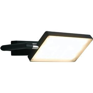 Fan Europe Applique orientabile alluminio led 17 nera led-book-ap-nero