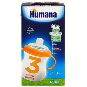 Humana 3 latte liquido 470ml