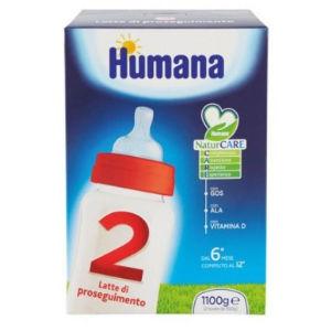 Humana 2 latte polvere 1100g