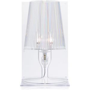 Kartell Take lampada da tavolo cristallo