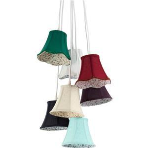 Tomasucci Bells 1951 lampadario 7 luci multicolore