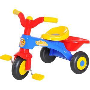 Homcom Triciclo con cestino portaoggetti