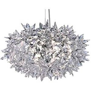 Kartell Bloom S2 lampada a sospensione cristallo
