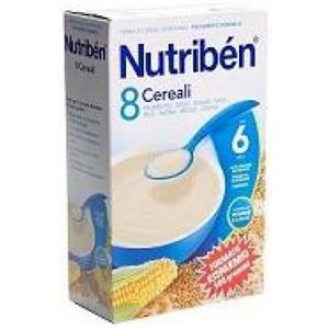 Nutribén Crema 8 cereali 300g
