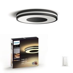 Philips Hue Being 32610/30/P7 plafoniera LED nero con dimmer