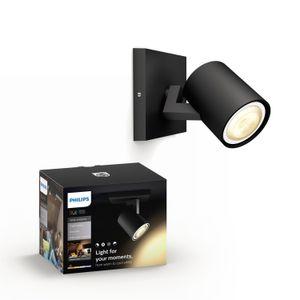 Philips Hue Runner 53090/30/P8 faretto LED nero est.
