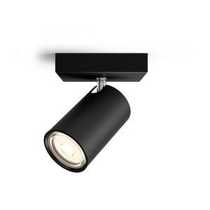 Philips Kosipo 50591/30/PN faretto LED metallo nero
