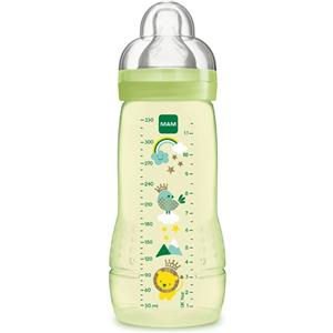 MAM Biberon Baby Bottle 4m+ verde silicone 330ml