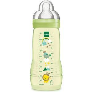 MAM Biberon Baby Bottle 4m+ verde silicone 330ml