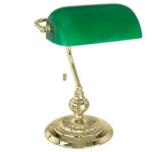 Eglo Banker 90967 lampada da tavolo vetro verde