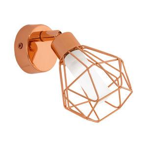 Eglo Zapata 95545 faretto LED metallo rame