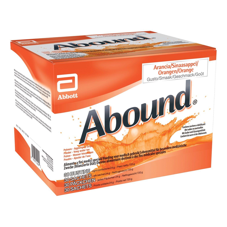 Abbott Abound Miscela Proteica Arancia 30 Buste