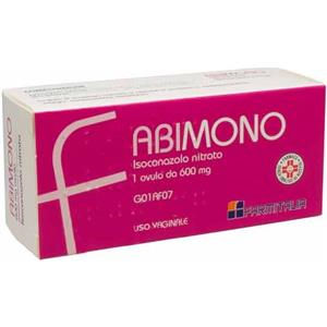 Farmitalia Abimono 1 ovulo vaginale 600mg