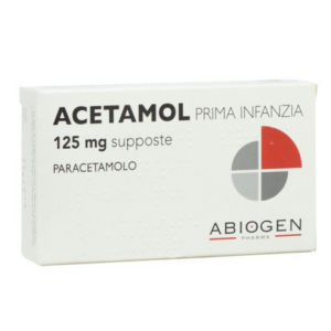 Abiogen Pharma Acetamol prima infanzia 125mg 10 supposte
