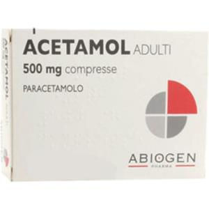 Abiogen Pharma Acetamol adulti 20compresse 500mg