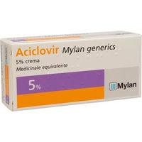 Mylan Aciclovir crema 5% 3g
