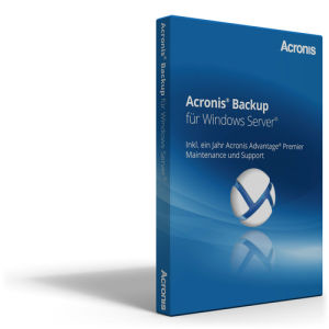 Acronis Backup for Windows Server 12