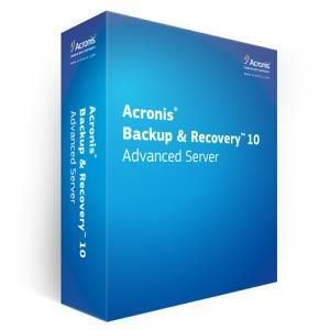 Acronis Backup & Recovery Advanced Server 10