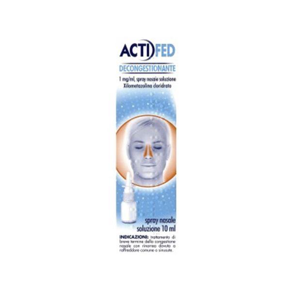Johnson & Johnson Actifed decongestionante spray nasale 10ml