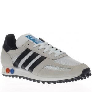 adidas Trainer OG, Scarpe da Ginnastica Basse Uomo, Beige (Vintage White-St/Core Black/Clear Brown), 46 EU