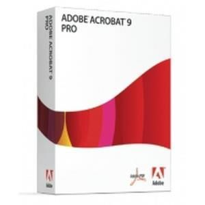 Adobe Acrobat 9 Pro Student and Teacher Edition Mac