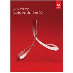 Adobe Acrobat Pro DC 2015 Student and Teacher Edition