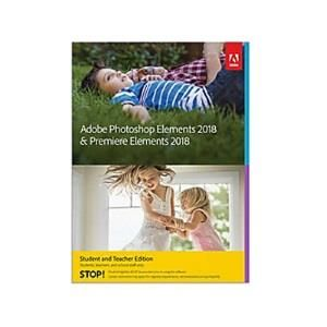 Adobe photoshop elements 2018 premiere elements 2018 student and teacher edition