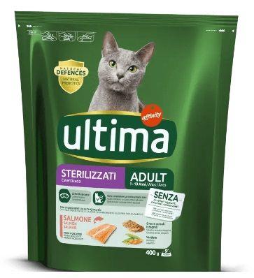 Affinity Ultima Cibo per Gatti Sterilizzati Adulti con Salmone - secco 400g
