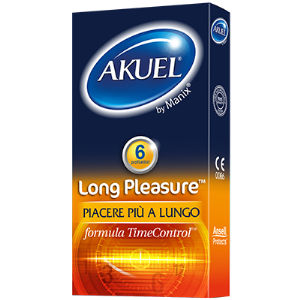 Akuel Long Pleasure (6 pz)