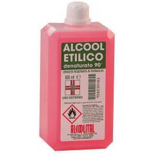 Alcoolital Alcool Etilico Denaturato 90% 250ml