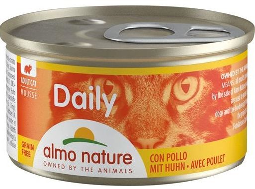 Almo Nature Daily Cats Mousse (Pollo) - umido 85g