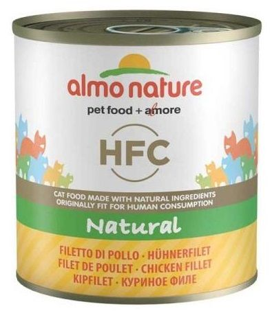 Almo Nature HFC Natural Filetto di Pollo per Cane 95g - umido