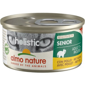 Almo Nature Holistic Cat Senior Adult 7+ Senior Mousse per Gatti